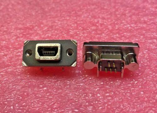 MUSBE55100 CONN RCPT USB2.0 MINI AB PCB R//A