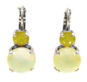 SoHo-Ohrringe-geschliffene-Kristalle-yellow-opal-bohemia-Glas-1960-sabrina-gelb