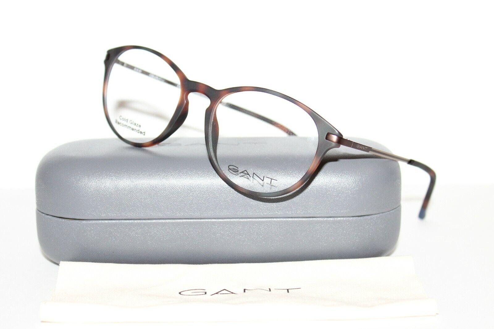 Nouveau Gant GA3100 052 50 mm Dark Havana Optique Lunettes Cadres