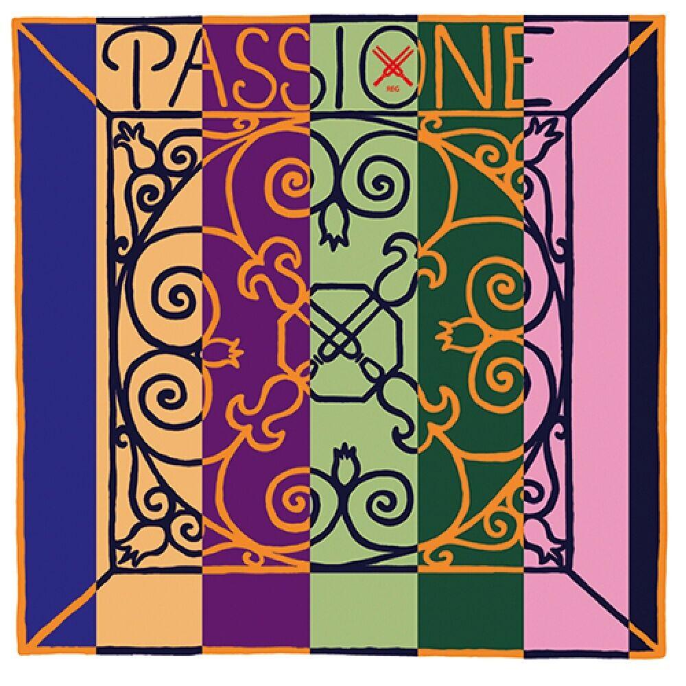 PIRASTRO Passione SOLO 4 4 Violin Saiten SATZ, mittel, E-Kugel oder -Schlinge