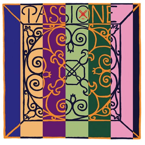 mittel E-Kugel oder Schlinge PIRASTRO Passione SOLO 4//4 Violin Saiten SATZ