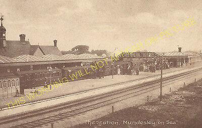 1 Mundesley-on-Sea Railway Station Photo Cromer Line Paston Trimingham