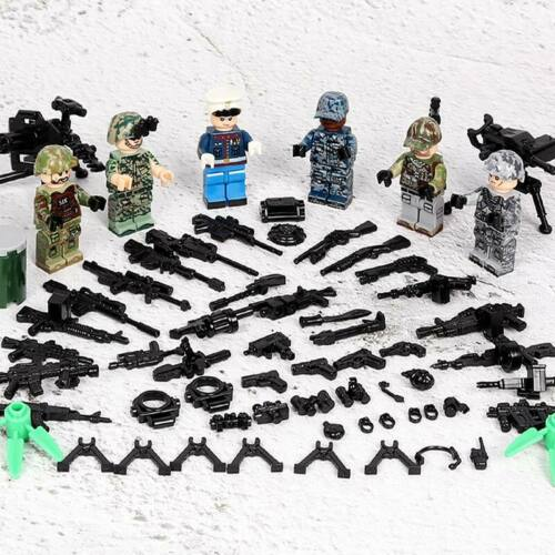 Special Force Military Navy Seals Army Minifigure Sets Building Blocks fit Lego