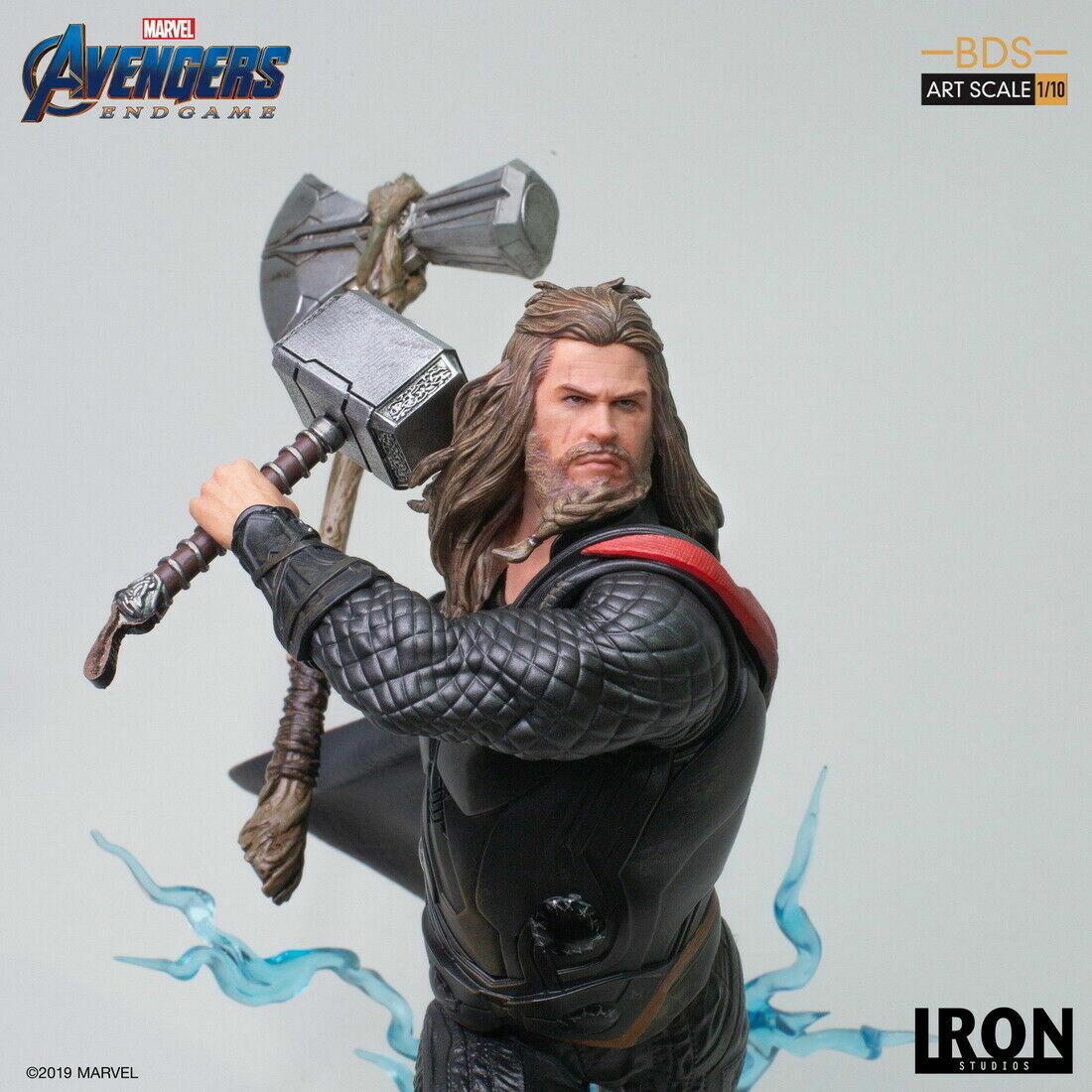 1 10 Iron Studios MARCAS19419-10  Avengers Endgioco Thor Limited Resin Statue giocattolo  negozio outlet