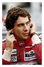 AYRTON SENNA AUTOGRAPHED SIGNED A4 PP POSTER PHOTO 3