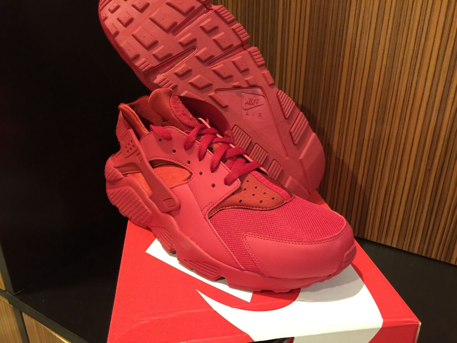 Nike Air Huarache Low All Red 8 - 14 Rainbow Sunset black wheat Gum Ostrich 12 1 Great discount