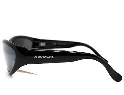 migliore a buon mercato 46cf3 df652 OCCHIALI DA SOLE UOMO ovale SPORTIVI AVVOLGENTI nero specchio MADE IN ITALY  | eBay