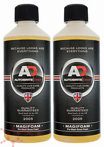 Autobrite Direct Magifoam 1L ~ Snowfoam Litre Car Wash Detail Shampoo