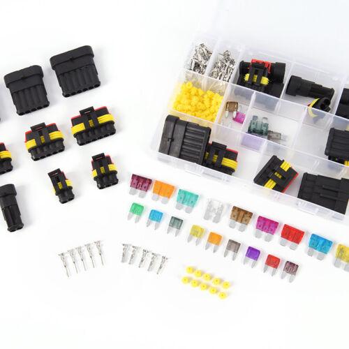 216pcs kit di connettori elettrici 12v superseal waterproof 1//2//3//4//5//6 vie  Oj