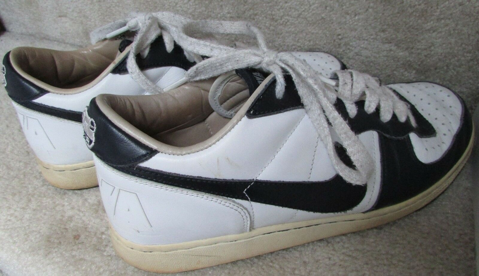 2004 Nike Zoom Terminator Low Hoyas Basketball Shoes Sneakers Comfortable Special limited time