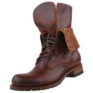 Details about New Sendra Boots Men's Shoes Boots Men Boots Lace up Boots Leather Boots