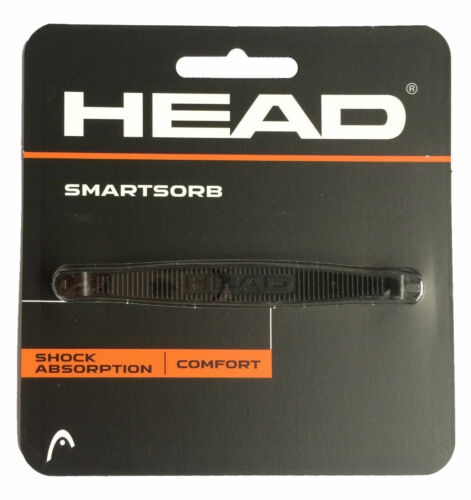 3X BLACK HEAD SMARTSORB SHOCK ABSORBER VIBRATION DAMPENER TENNIS RACQUET
