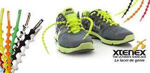 Lacets Auto-bloquants Xtenex Triathlon Running Pour Toutes Les Chaussures Sport