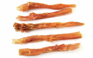 Large Beef Tendon 5 Pack,  Bully Sticks, Natural Dog Chews