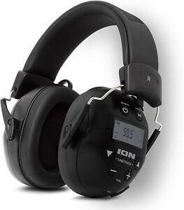 ION Tough Sounds II Hearing Protection Headphones w/ Bluetooth & AM/FM Radio