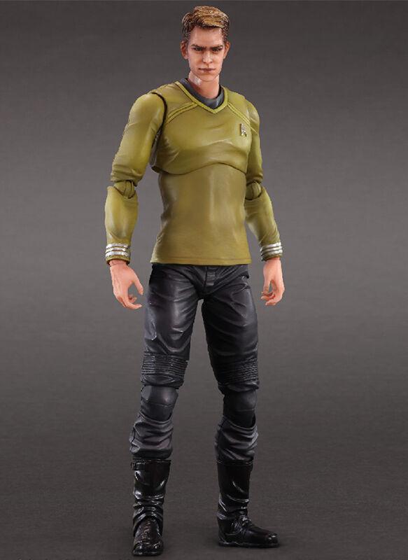 Star Trek Movie Captain James T. Kirk P.A.K. Play Arts Kai Action Figure