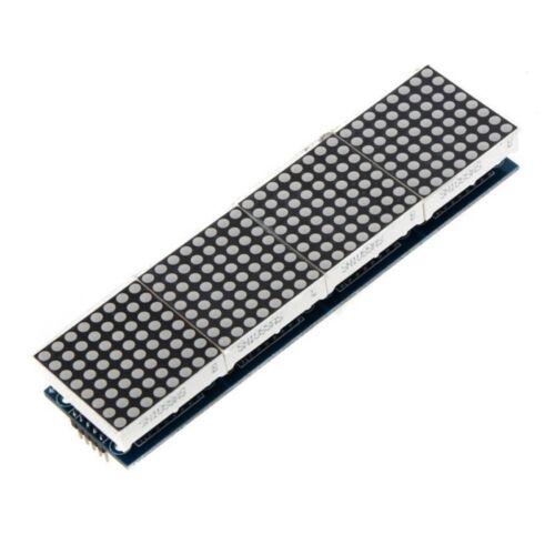 4 in 1 Dot Matrix MCU LED Anzeigemodule DIY Set fuer Arduino 5 PC Verbindun U3Y1