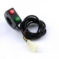 7/8motorcycle Handlebar Light Horn On/off Turn Signal Headlight Switch Bike 12v