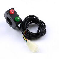 7/8motorcycle Handlebar Light Horn On/off Turn Signal Headlight Switch Bike 12v