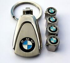 KEY CHAIN RING LOCKING VALVE STEM CAPS WHEEL RIMS BMW M3 130I 323 328 M6 Z3 Z4