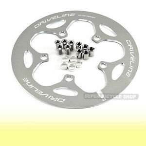 Driveline-Chain-Guard-53T-BCD-110mm-163g-Gray