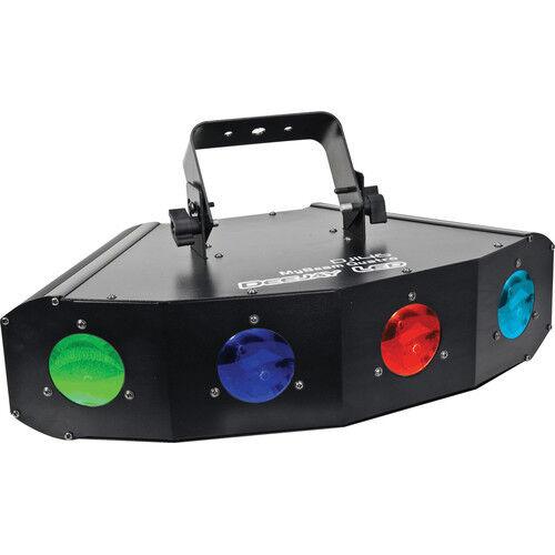 DeeJay LED 30W LED Four Moon Fixure mit DMX Control DJ146