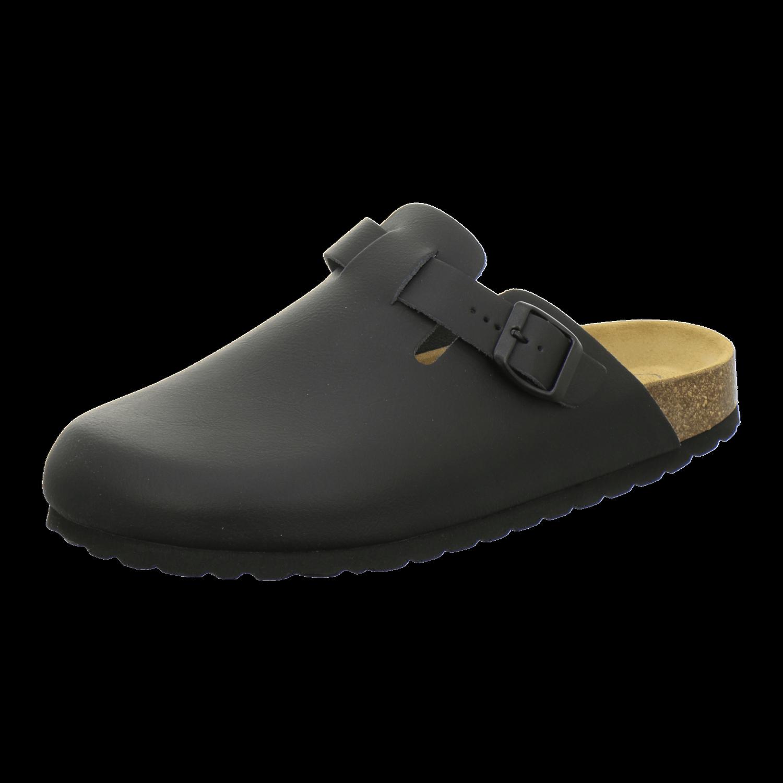 AFS-Schuhe 3900 Clogs Damen und Herren, bequeme Pantoffeln, Hausschuhe aus Leder