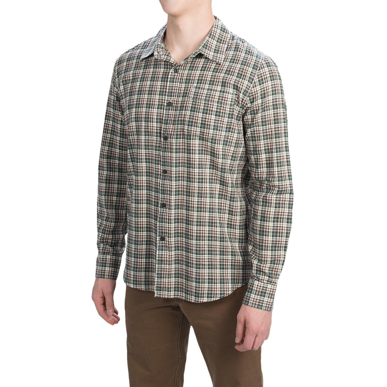 Gramicci - Men's M - NWT - Green & Multi Plaid Madras Cotton Button-Down Shirt
