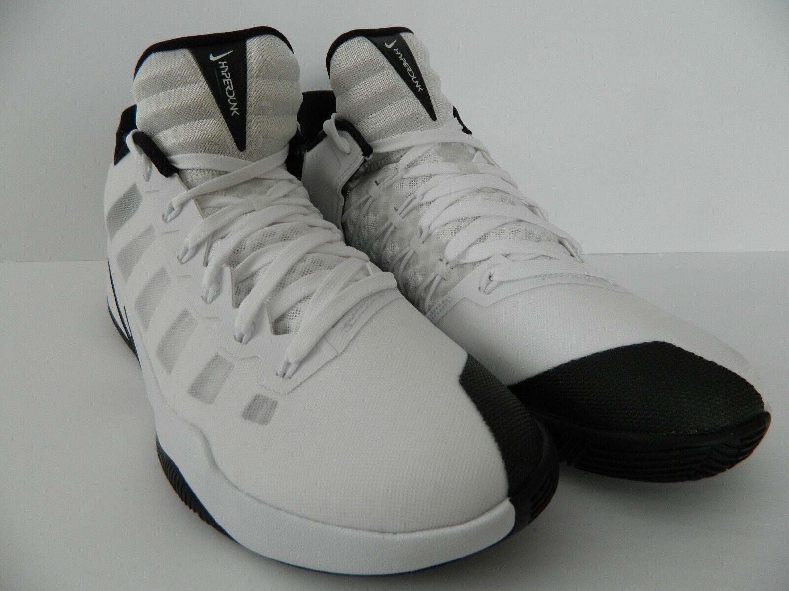 Nike Hyperdunk 2016 Low  ( White / Black) ( 844363 100 ) NIB
