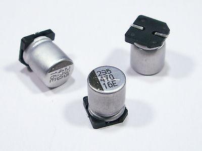 S303-10 pièces smd Elko 470µf 16v Condensateur stützkondensator flackerschutz