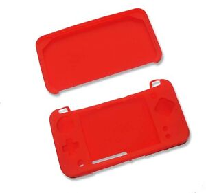 Red-Soft-Silicone-Gel-Cover-Case-for-NEW-Nintendo-2DSXL-2DS-XL-Console-UK