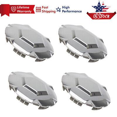 "4x GMC Envoy XL XUV CHROME Wheel Center Hub Caps 17/"" 2002-2007 9593396 9595152"