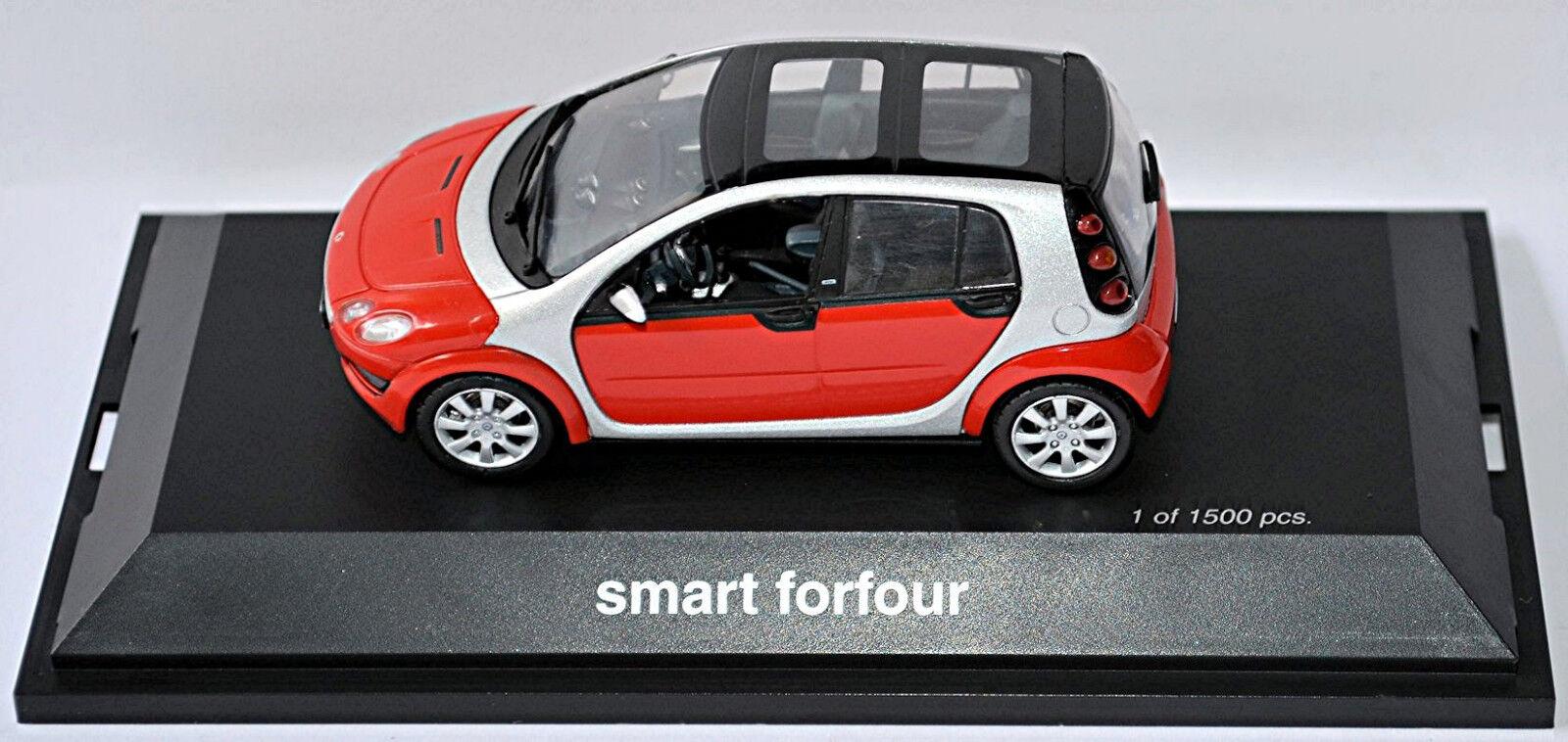 Smart Forfour W 454 Brabus 2004-06 Jack Black//Black 1:43 Roadster