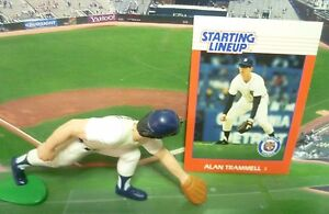 1988  ALAN TRAMMELL - Starting Lineup - SLU - Loose With Card -  DETROIT TIGERS