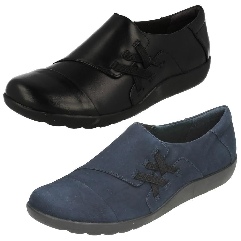 Casual salvaje Descuento por tiempo limitado Ladies Clarks Smart Slip On Shoes