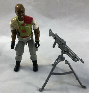 GI-Joe-1986-Roadblock-V2-100-COMPLET-Hasbro-Action-Figure-un-veritable-heros-americain