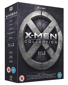 X-Men-Collection-All-8-Films-Box-Set-1-8-Blu-ray-8-Discs-Region-Free-NEW
