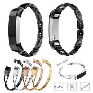Stainless-Strap-Replacement-Band-Bracelet-Steel-Bangle-Luxury-For-Fitbit-Alta-HR