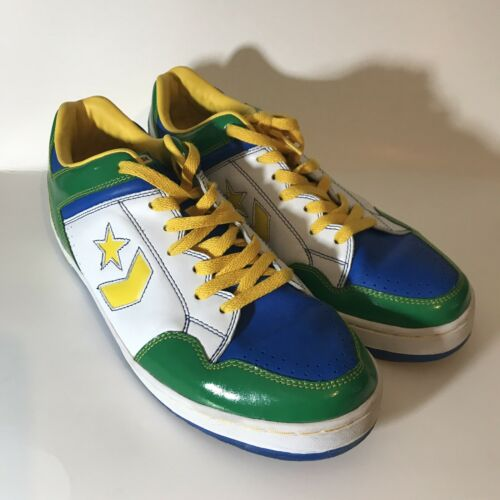 """Converse Weapon Shoes Size 11.5 """"Africa"""" Colorway"""