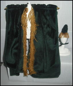 Robe Hat Carol Burnett Barbie Doll Went With The Wind Curtain For