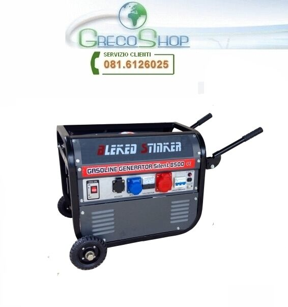 Gruppo elettrogeno/Generatore di corrente 2800W - 220/380V c/ruote