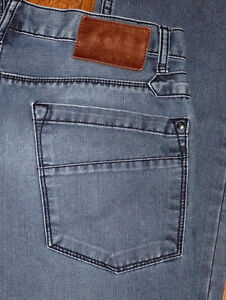 Autentico Zara Hombre Recta Flaco Negro Azul Marron Pantalones Vaqueros Sz 30 31 Ebay