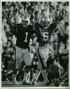 1988-Press-Photo-Auburn-039-s-Shulman-And-Lyle-Celebrate-At-Georgia-Football-Game