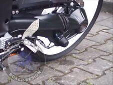 BMW Crash-Pad-Set schwarz R 1200 (außer GS) best. aus Kardan- und Gabelpads
