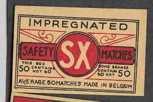 Ancienne étiquette Allumette Belgique Bn2241 Sx Qu1ovw4o-07223700-915335499