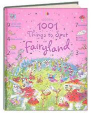Usborne 1001 Things to Spot: 1001 Things to Spot in Fairyland by Gillian Doherty (2006, Hardcover)