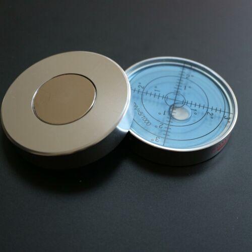 bleu-S Bulls Eye Bullseye flacon Bulle Magnétique Niveau à bulle boîtier métallique