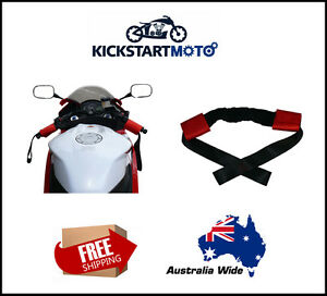 Handle-Bar-Harness-For-Motorcycle-Tie-Down-Straps-Trailer-Scooter-Handlebar