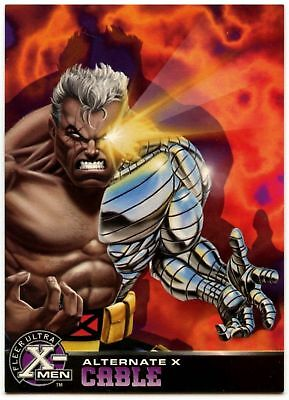 Bishop #4 Of 20 X-Men Alternate X Fleer Ultra 1995 Chase Card C1401