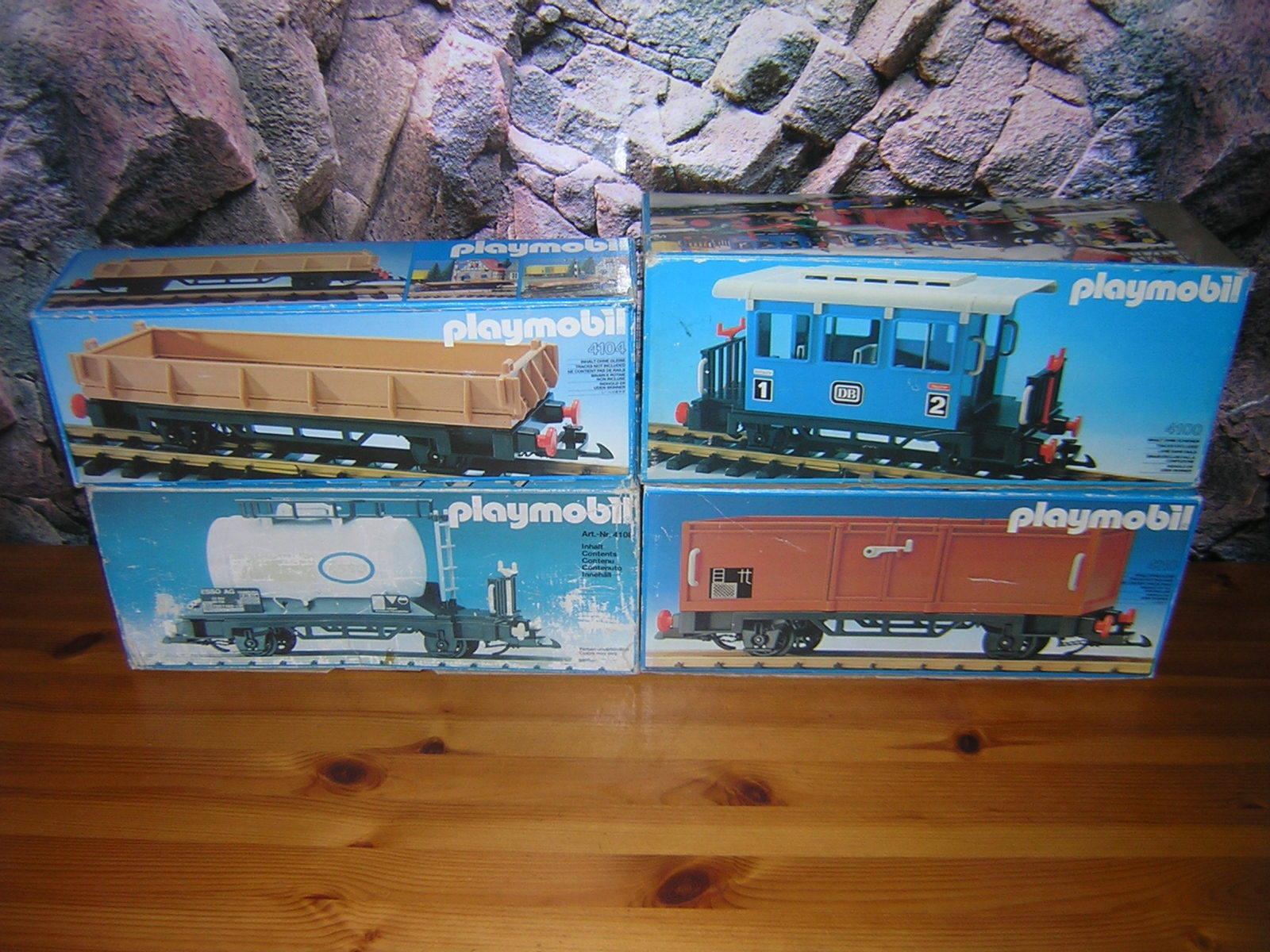( Srh ) 4100 4104 4108 4110 Boxcar Autovetture Vagone Conf. Orig. Ferrovia LGB
